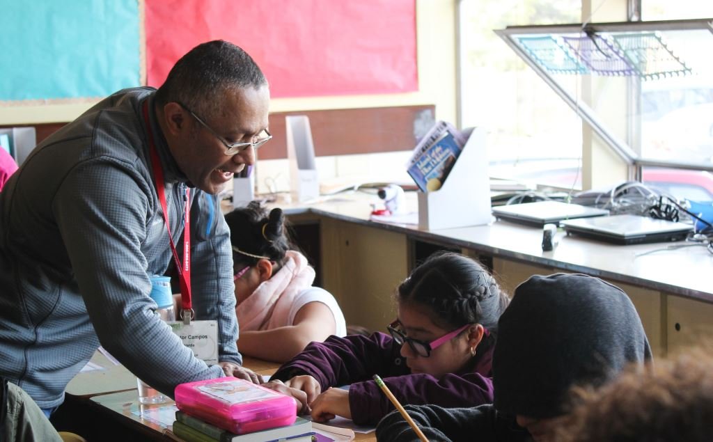 Verde, OMSI teach active transportation curriculum to Scott Elementary School