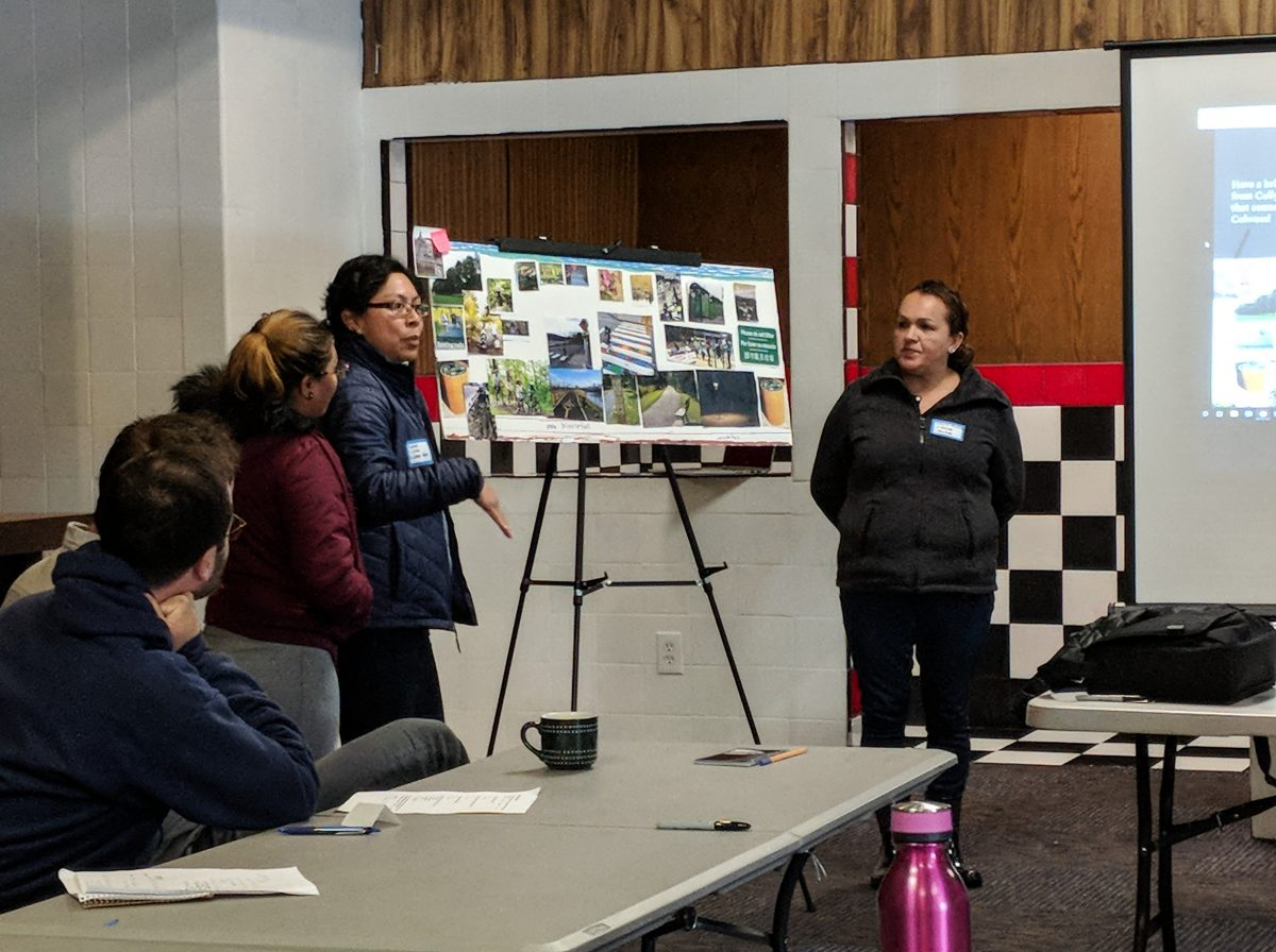 Community Leaders create vision for future Columbia Slough Trail in Cully