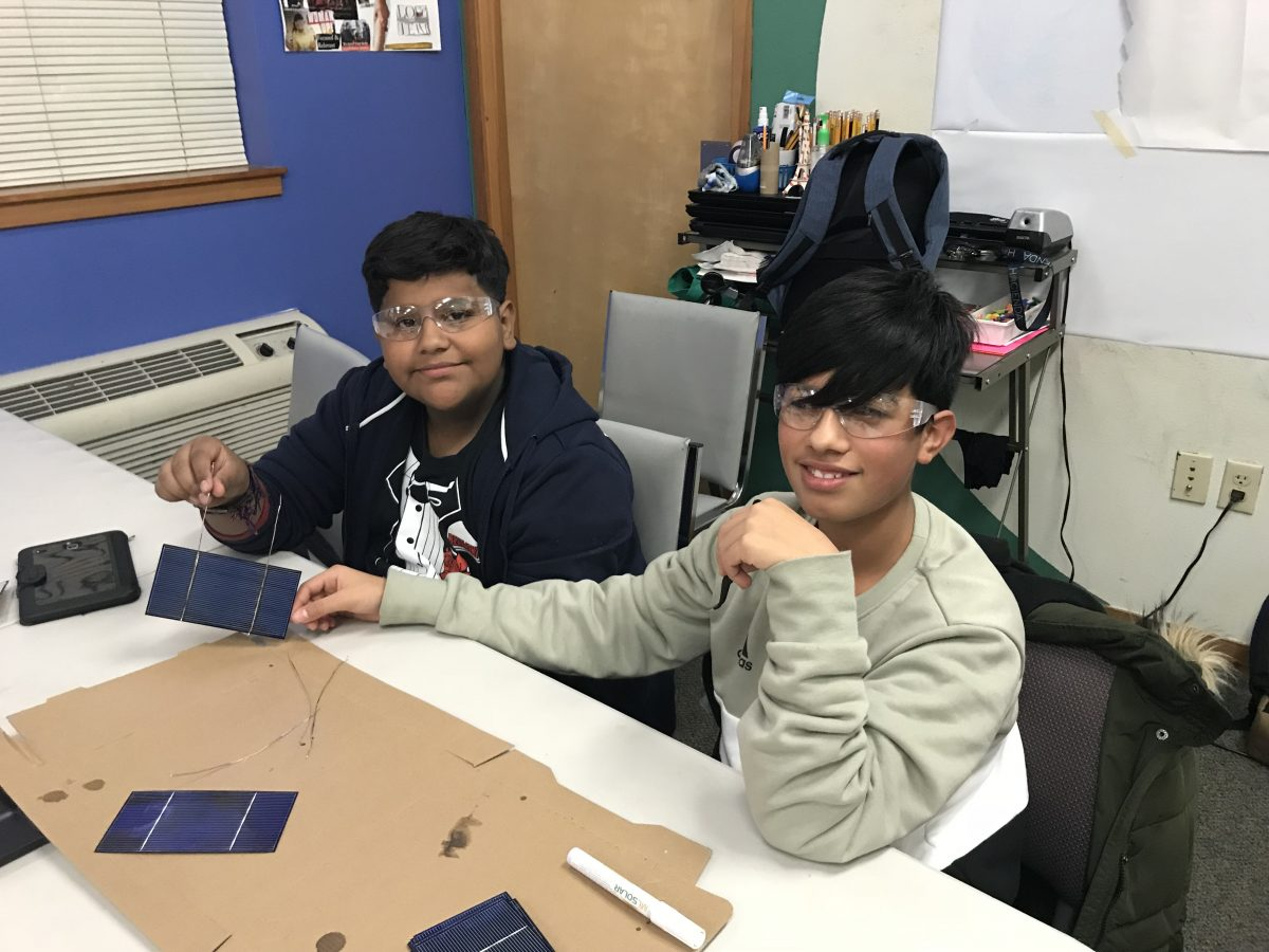 Verde Launches a New Solar Energy After School Program in Cully