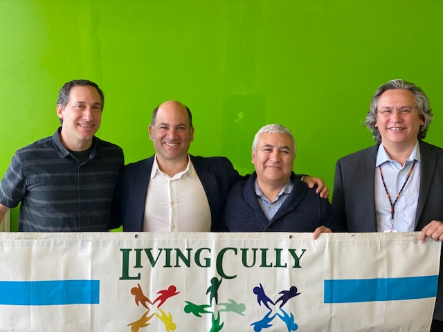Living Cully members sign five-year agreement to continue partnership
